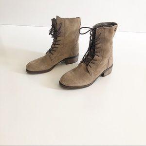Sam Edelman Combat Lace Up Boots Size 6